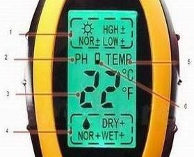 PH-метр ZD 5 для измерения pH и влажности почвы